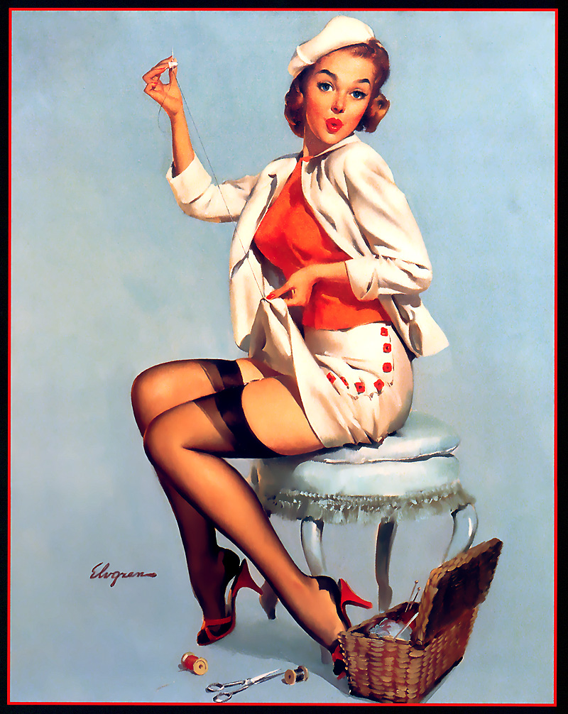 gil elvgren | the pinup dictionary | page 11