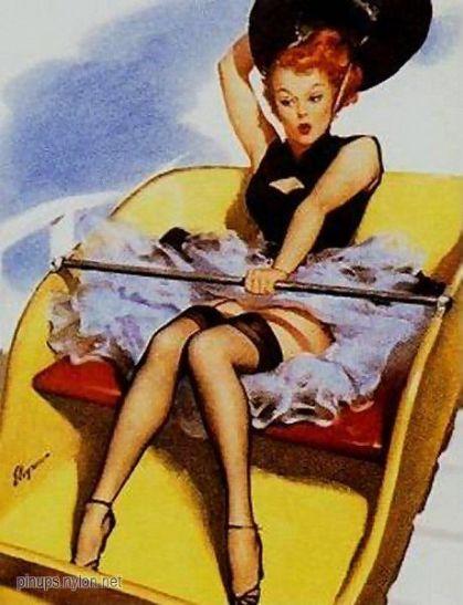 elvgren$Riding_High_1954